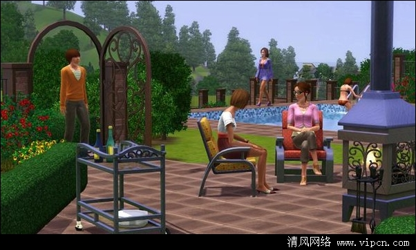 ģ������3������������ ��The Sims 3: Outdoor Living�� �����������Ӳ�̰�