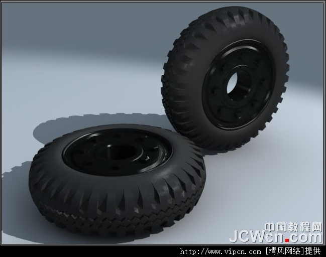3ds MAX建模教程:详解汽车轮胎的制造措施 (1)[多图]