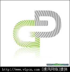 CorelDRAW用文字联结工具建设企业标识[多图]