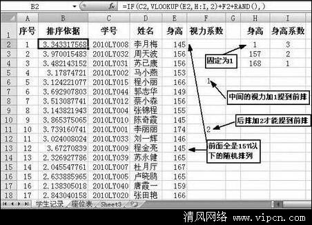 Excel快速制表按需排座位[多图]