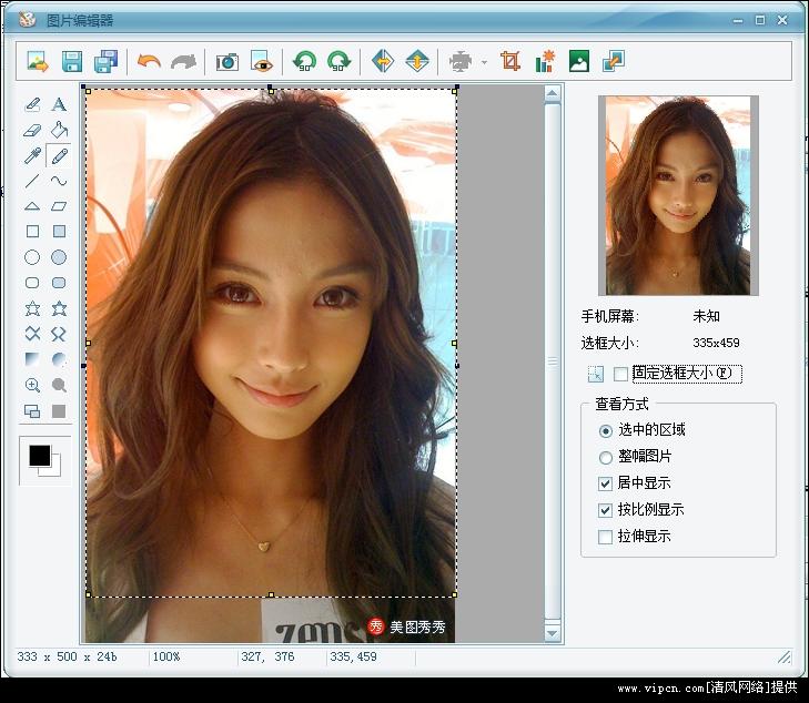 傻瓜式制作手机桌面壁纸小工具(PicEditor) 中文绿色版图1: