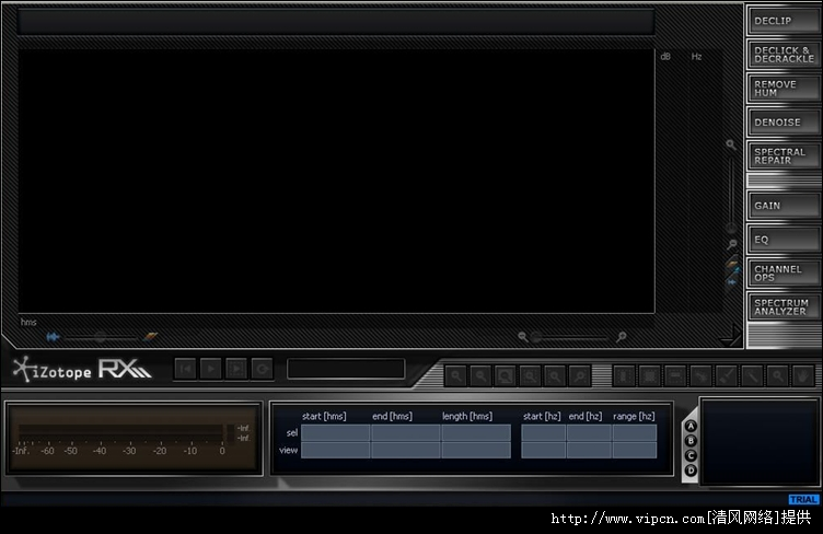 音频修复降噪工具(iZotope RX Advanced STANDALONE DX VST RTAS) x86/x64 v2.2 安装版