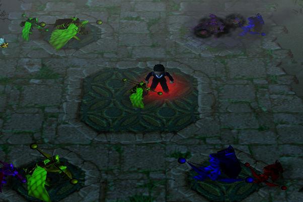 沼泽生机魔兽生存地图 V1.5