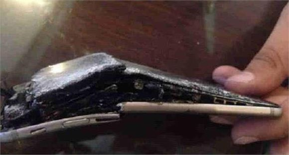 iPhone6s使用非原装充电器充电爆炸 不用原装充电器的下场[多图]