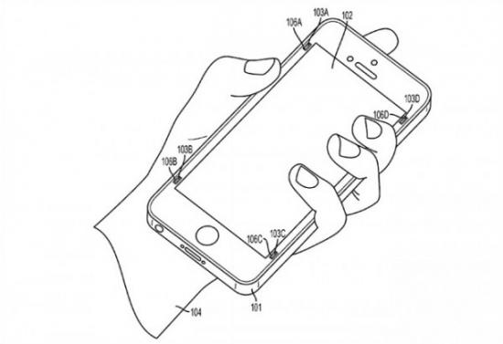 iPhone手机在也不怕碎屏了 iPhone专利屏幕保护片[图]