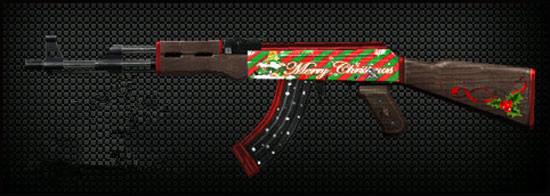 穿越火线枪战王者绝版AK47-圣诞怎么获得? CF手游AK47-圣诞获取方法[图]