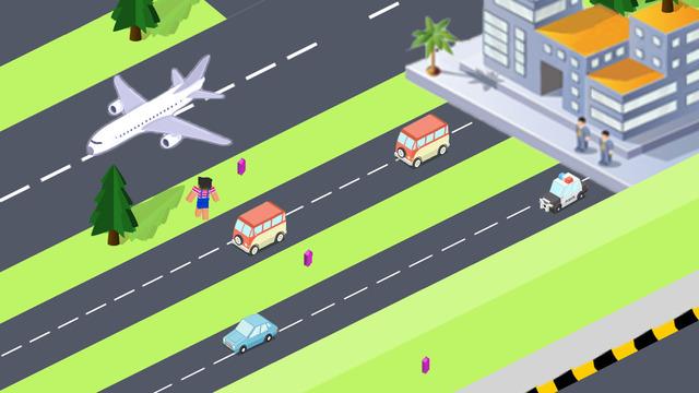 天天过马路模拟官方版游戏(Cross Road Simulation) V1.0