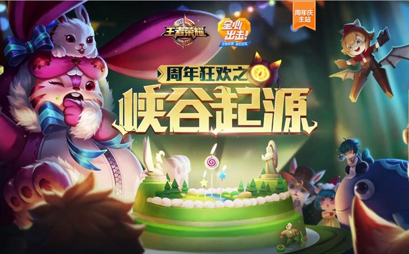 王者荣耀10月24日峡谷起源更新汇总:周年庆版本延迟更新补偿[图]