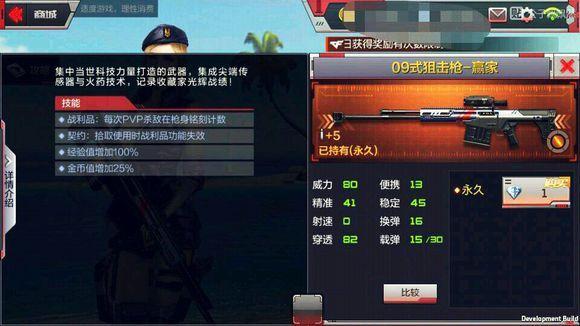 穿越火线枪战王者09式狙击枪-赢家怎么获得?CF手游09式狙击枪赢家多少钱[图]