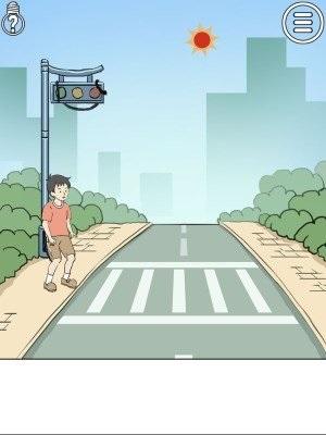 陷阱回避第三关攻略:安全过马路[多图]