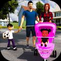 母亲模拟器幸福的家庭新出生的婴儿游戏中文手机版 v1.0.3