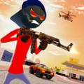 火柴人匪徒战争游戏安卓最新版 v1.0