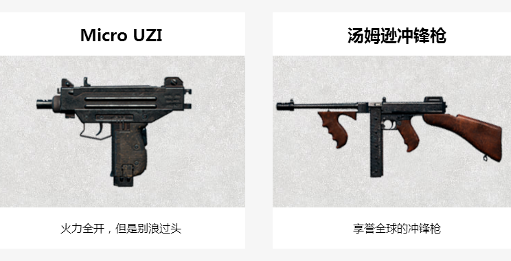 绝地求生刺激战场哪把冲锋枪最好 全系冲锋枪属性评测[图]