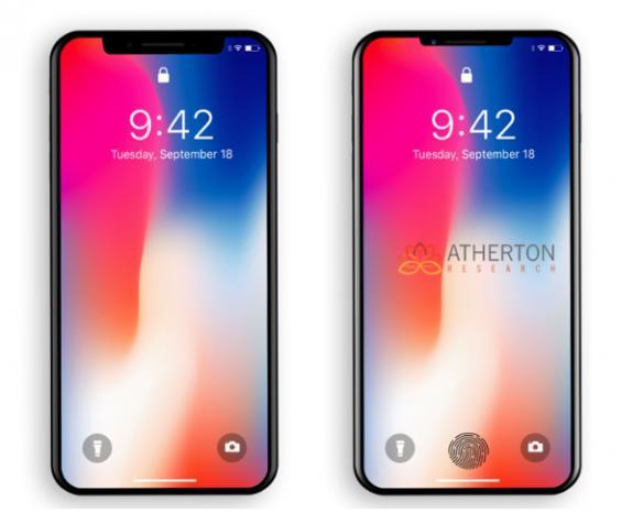 iPhoneX新功能预测 屏下虚拟指纹识别功能[图]