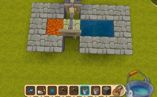迷你世界新型刷石机制作教程[多图]
