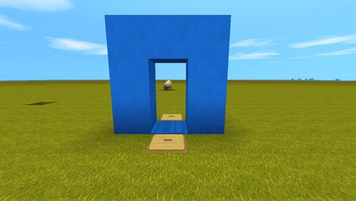 迷你世界防怪透明隐藏门制作教程 透明隐藏门怎么做[多图]