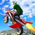 飞行城市竞技摩托游戏安卓版 v1.1