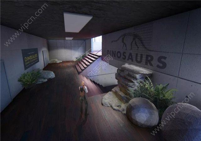 穿越火线枪战王者新地图恐龙博物馆原画一览图片3