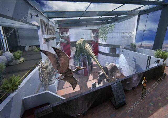 穿越火线枪战王者新地图恐龙博物馆原画一览图片1