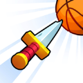 飞刀和篮球游戏安卓官方中文版(Knife vs Balls) v1.0