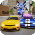 警车追逐机器人大战手游安卓版 v1.0