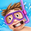 水滑梯滑行赛io游戏官网版 v1.0