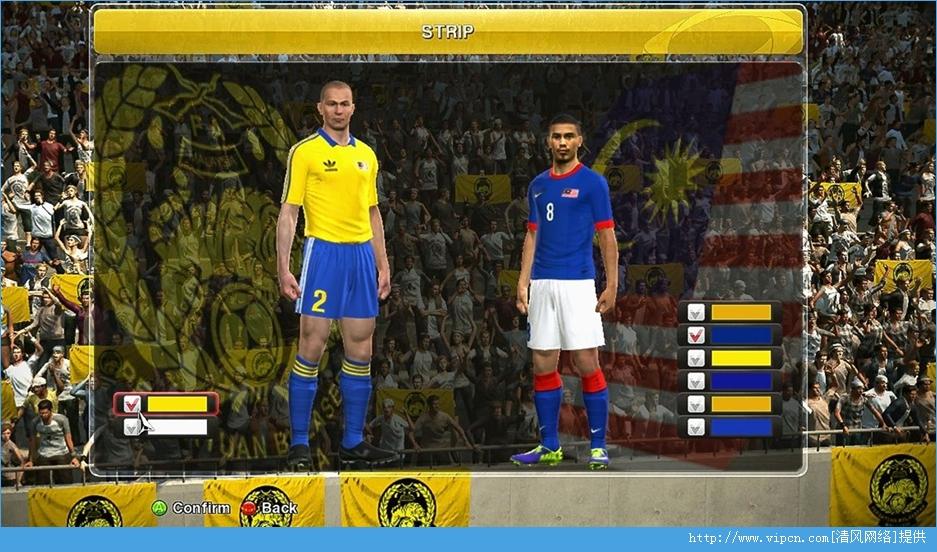 《实况足球2014》马来西亚联赛大补 V7.0