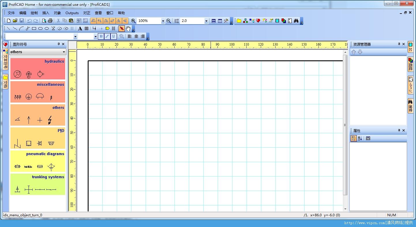 ProfiCAD CAD电气原理图形编辑器 官方版 V7.5.9 特别版