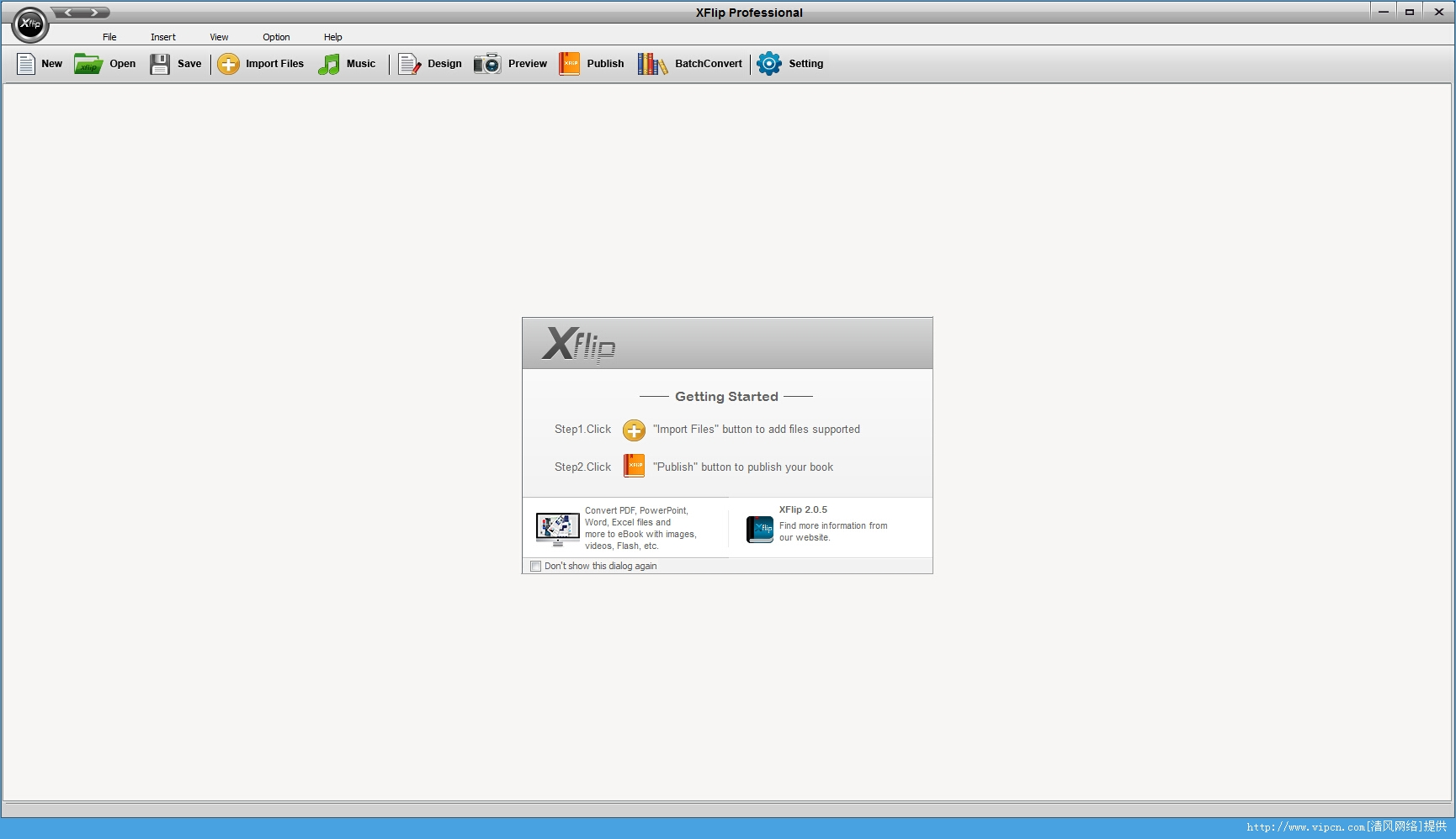 XFlip Professional 多媒体电子书制作 官方版 v2.0.5 专业版破解版