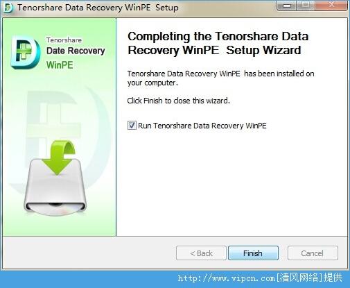 Tenorshare Data Recovery WinPE 官方破解版 v4.0 Build 1887 安装版