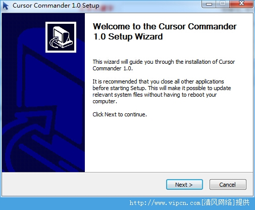 鼠标指针管理器 Cursor Commander 官方版 v1.0 安装版
