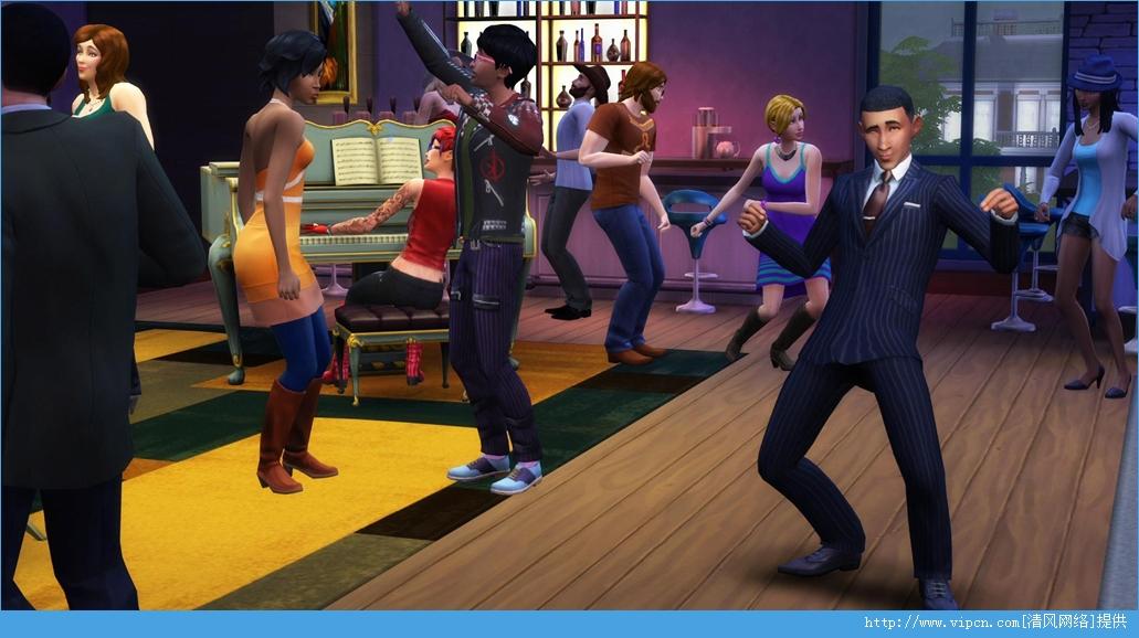 《模拟人生4》 The Sims 4 游民免安装中文硬盘版