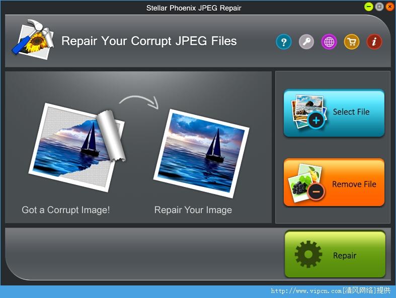 Stellar Phoenix JPEG Repair jpeg图片修复工具 官方版 v3.0 安装版