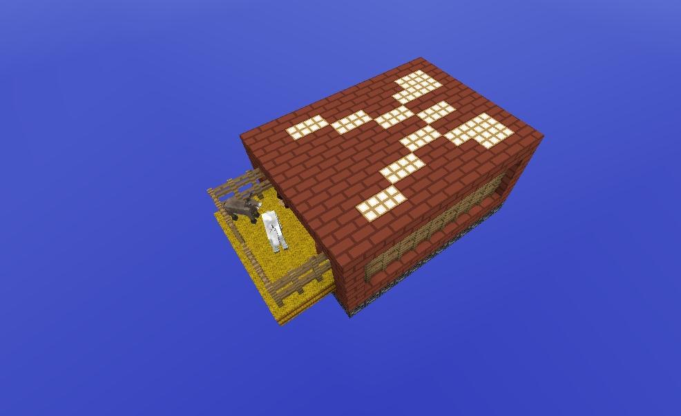 《我的世界》火柴盒空岛生存地图 加强版 v2.0