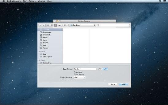 MAC抓图(RetinaCapture)官方 v1.0 免费版
